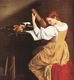 Mulher usando uma Kirtle sobre uma bata.