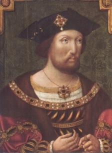 O jovem Henrique VIII.