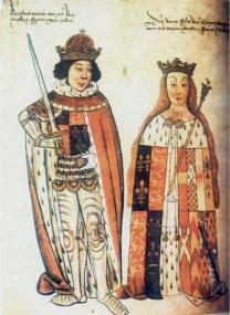 Ricardo III e sua esposa Ana Neville.