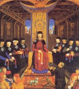 Knight Hospitallers.