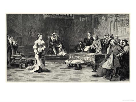 Julgamento sobre o casamento de Henrique VIII e Catarina de Aragão.
