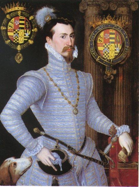 Robert Dudley, marido de Amy Robsart.