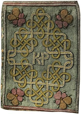 Capa do livro que Elizabeth deu de presente a sua madrasta Catarina Parr.