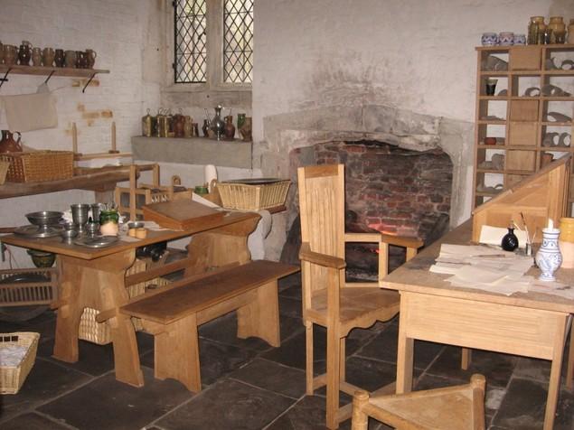 Prataria na cozinha Tudor. Por: www.nowpublic.com Martin23
