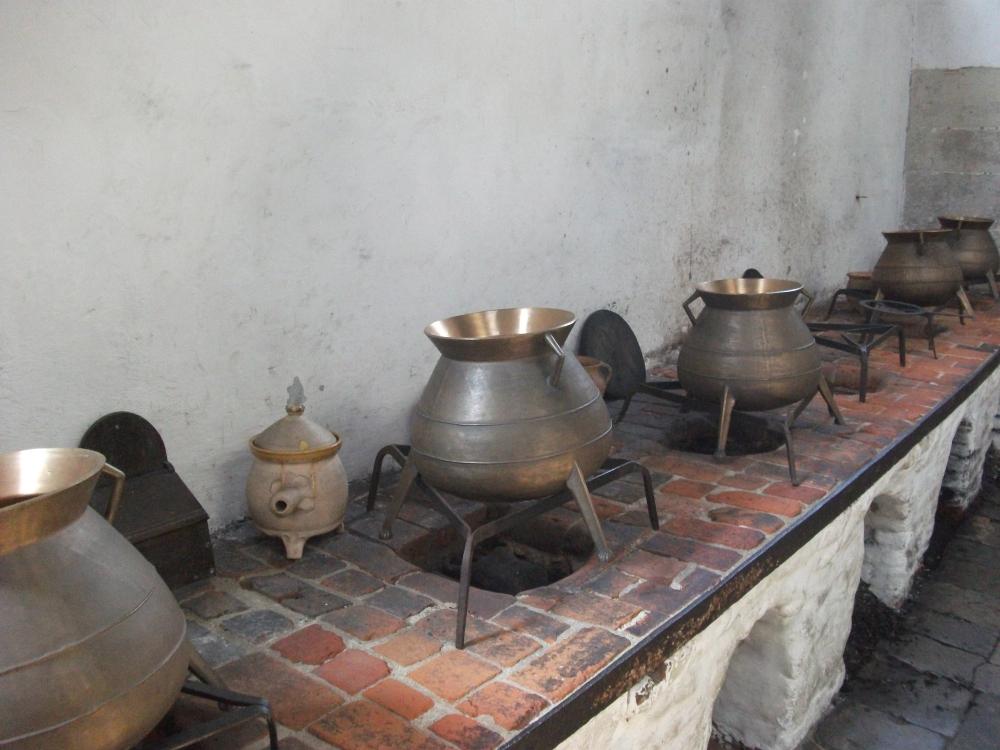 Panelas na boiling house, onde a carne é cozida. Foto por: http://www.flickr.com/photos/syrianakhouri/