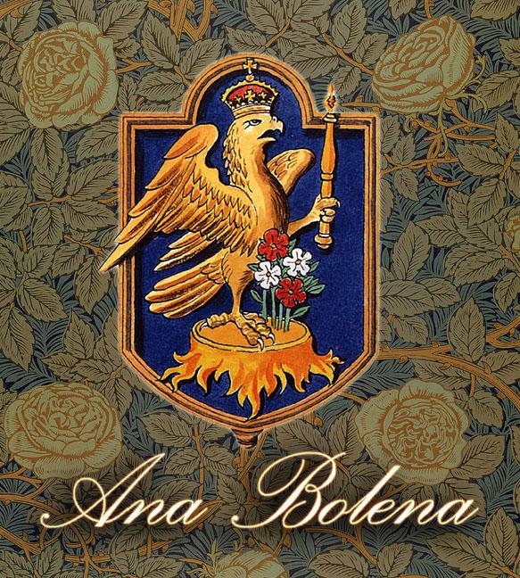 Brasão de Ana Bolena, adotado por Elizabeth.