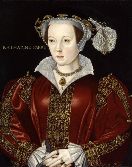 Catarina Parr, por artista desconhecido. Fim do século XVI.