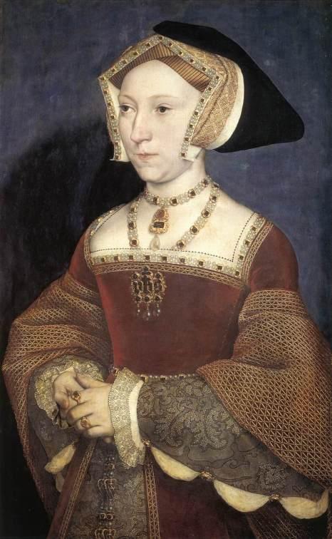 Jane Seymour, por Hans Holbein. Óleo sobre tela, 1536.