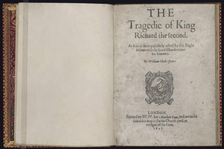 Richard II Folio.