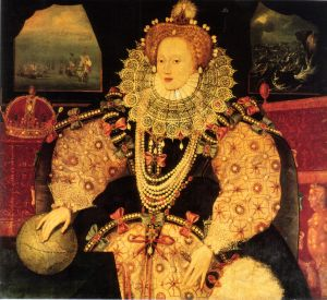 Retrato da Armada de Elizabeth I.