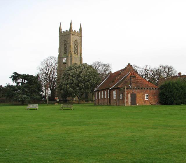 Igreja em Salle Norfolk.