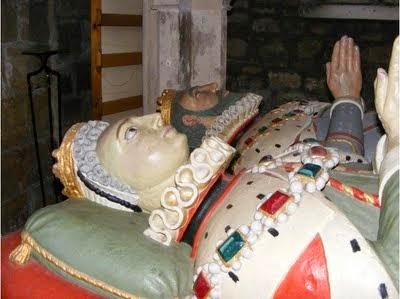 Tumba de Elizabeth Browne, Condessa de Worcester.