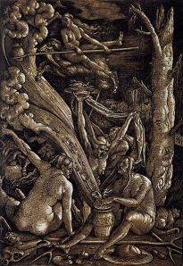 411px-Hans_Baldung_-_Witches_Sabbath_-_WGA01221