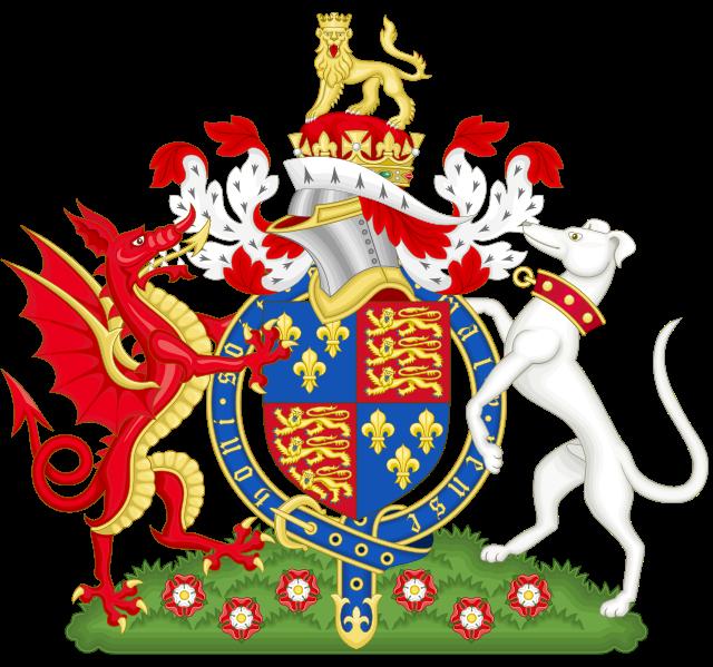 Brasão de Armas de Henrique VII.