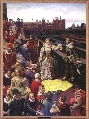 Elizabeth-Courtiers