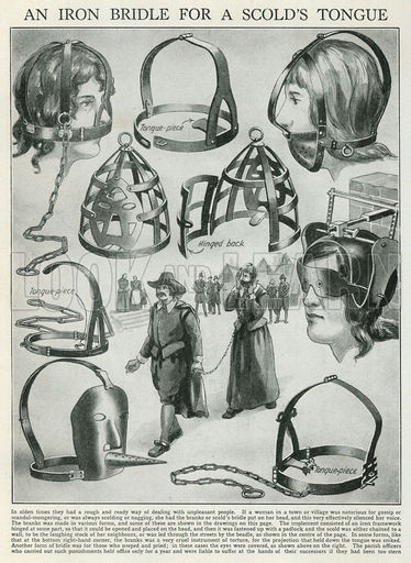 An Iron Bridle for a Scold's Tongue