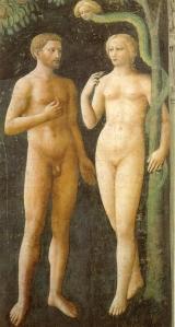 Cappella_brancacci,_Tentazione_di_Adamo_ed_Eva_(restaurato),_Masolino