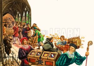 The Wonderful Story of Britain: King Henry and the Monasteries