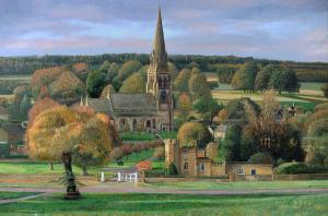 edensor--chatsworth-park--derbyshire-trevor-neal