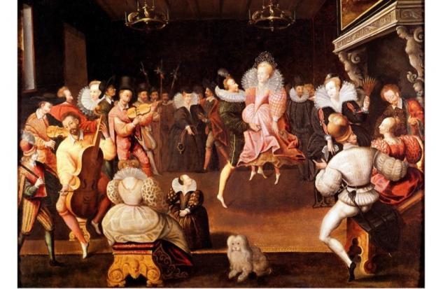 Elizabeth I dancing 3