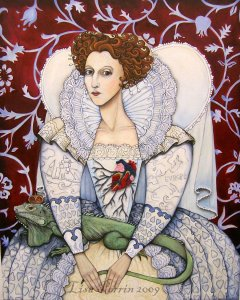 Elizabeth A Rainha Virgem - por Lisa Perrin.