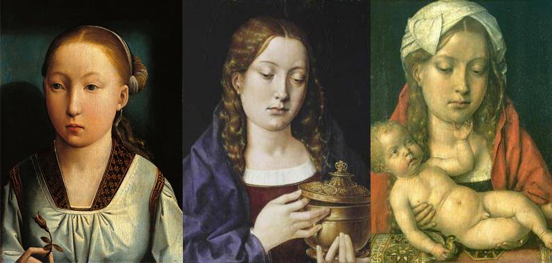 Retrato identificado como Infanta espanhola, retrato de