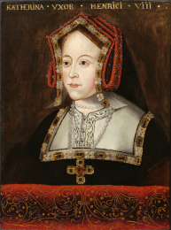 katherine-of-aragon-red-portrait