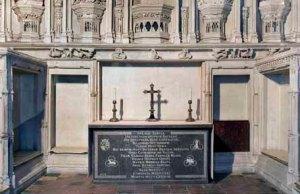 Henry V Chantry altar