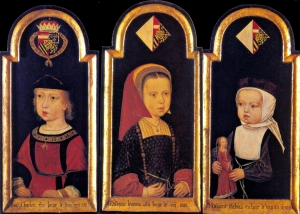 Charles_V_and_his_sisters
