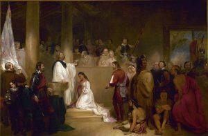 Baptism-of-Pocahontas