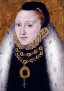 Rainha Elizabeth, c. 1560. Fundo originalmente em azul. Artista Desconhecido. © National Portrait Gallery.