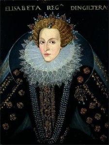 Rainha Elizabeth I, c.1592. Círculo de John Bettes, o Velho. Temple Newsam House.