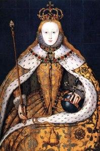 Retrato de Coroação, c. 1600. Cópia de 1559 de um original perdido. Artista Desconhecido. Anteriormente atribuído a William Stretes. © National Portrait Gallery.