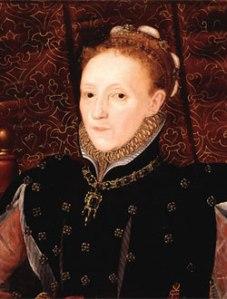 Rainha Elizabeth I, c. 1565-1570. Anteriormente atribuído a Hans Eworth. Dado atuais desconhecidos.