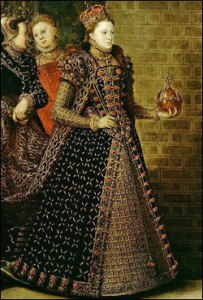 Detalhe da pintura acima. © The Royal Collection.