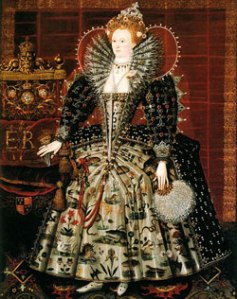 Rainha Elizabeth I, 1592. Círculo de Nicholas Hilliard. Hardwick House.