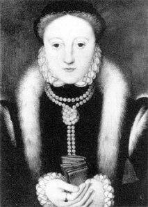 Elizabeth I, enquanto Princesa, c.1555. Artista Desconhecido. Informações atuais desconhecidas.