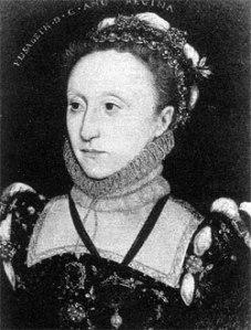 Rainha Elizabeth I, c. 1565-1570. Artista Desconhecido. Dados atuais desconhecidos.