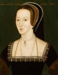 NPG 668; Anne Boleyn by Unknown artist