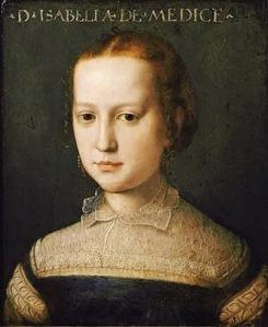 Agnolo-Bronzino-1503-1572-Isabella-Medici-1565