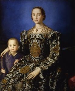 Bronzino_-_Eleonora_di_Toledo_col_figlio_Giovanni_-_Google_Art_Project