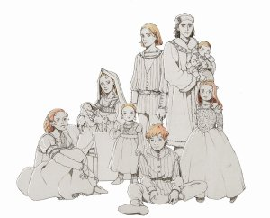 tudor_family_portrait___au_by_nami64-d8o53um