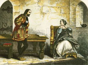 Anne Boleyn's interview with the Lieutenant of the Tower