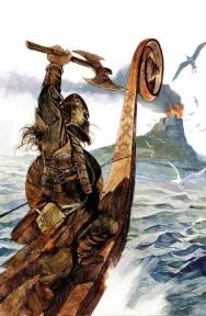 ilustração guerreiro viking 01
