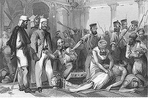 300px-British_soldiers_looting_Qaisar_Bagh_Lucknow.jpg
