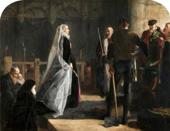 Herdman, Robert Inerarity, 1829-1888; Execution of Mary, Queen of Scots
