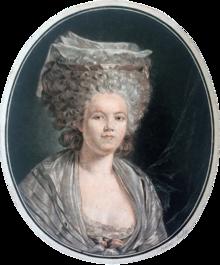 Pintura de Rose Bertin.