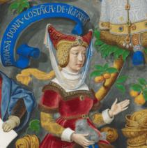 Constança_de_Castela,_Duquesa_de_Lencastre_-_The_Portuguese_Genealogy_(Genealogia_dos_Reis_de_Portugal)