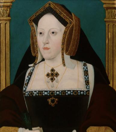 Catarina de Aragão, por artista desconhecido. Início do século XVIII.